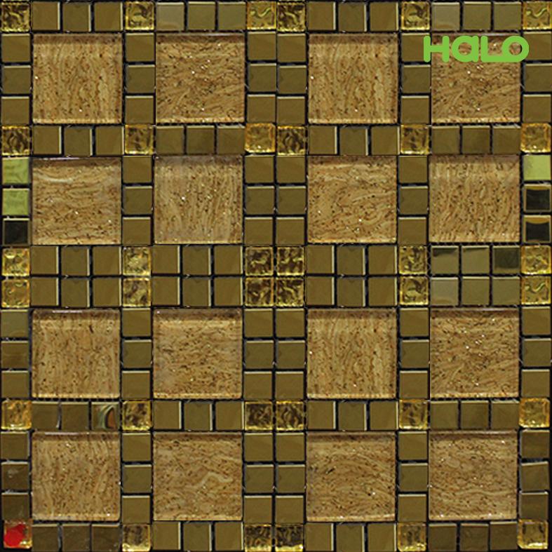 Gạch mosaic kim loại - LJSY052B