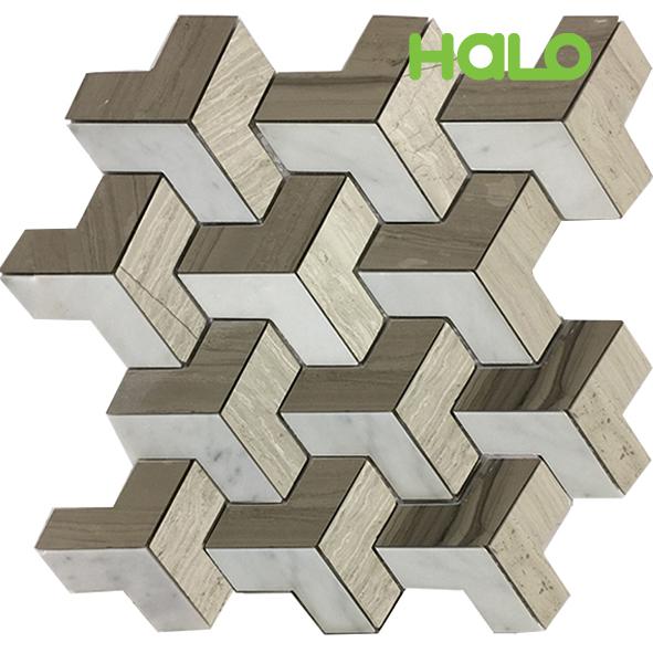 Gạch mosaic đá marble MF082C-P