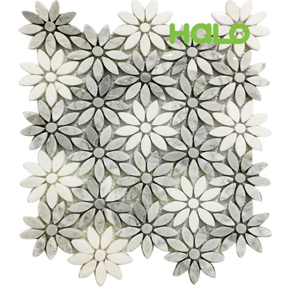Gạch mosaic đá marble MF106A1-P