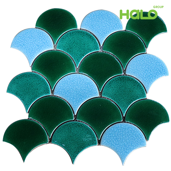 Gạch mosaic men rạn V-B73000
