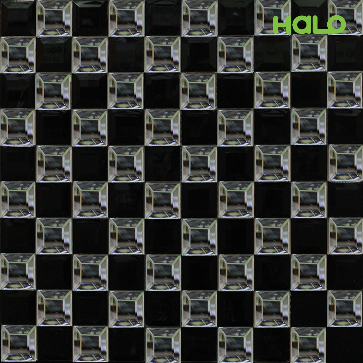Gạch mosaic thủy tinh - Y30JJP18
